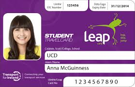 leap card wexford bus image of student leap card 2013 2014