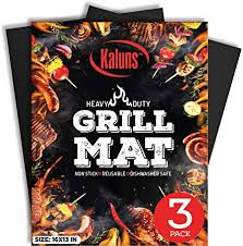 Kaluns Grill Mat, Best BBQ Mat - Heat Resistant up to ... - Amazon.com