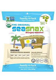Seasnax - Lightly <b>Roasted</b> and Seasoned <b>Seaweed</b> Multi Pack ...
