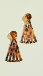 Cult Gaia <b>Acrylic Fan Earrings</b> | SHOPBOP