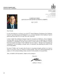 lt governor anthony c brown acceptance letter to bal was one lt governor anthony c brown acceptance letter to bal was one carnival 2013