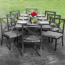outdoor dining table kind room full