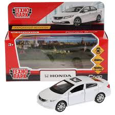 <b>Машина</b> металл <b>Honda civic</b> , длина 12 см, инерционная ...