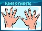 kinesthetically