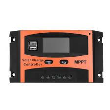 30a/<b>40a</b>/<b>50a</b>/<b>60a</b> mppt solar charge controller 12v/24v <b>lcd</b> accuracy ...