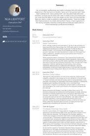 executive chef resume samples   visualcv resume samples databaseexecutive chef resume samples