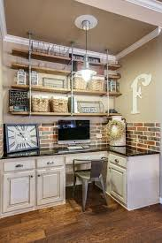 home ideas great idea for those horrible dated kitchen desks because who could possibly work at home office ideas