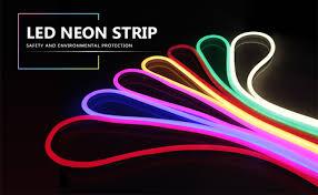 <b>Mini Led</b> Neon Flex Strip 12v 24v <b>110v 220v Rgb Led</b> Neon Light ...