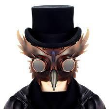 Steampunk <b>Plague</b> Doctor <b>Mask</b> Retro Beak <b>Masks</b> PU Birds ...