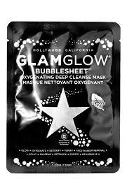 <b>Очищающая тканевая</b> маска для лица <b>Glamglow Bubble Sheet</b> ...
