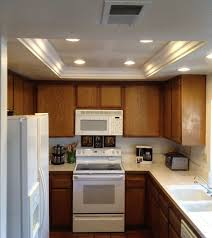 kitchen linear dazzling lights clear ceiling recessed: idea for our kitchen where the old flourescent lighting was
