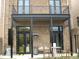 steel deck deck posts and balconies on pinterest beach style balcony helius lighting group