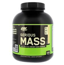 <b>Serious Mass</b>, <b>High Protein</b> Weight <b>Gain</b> Powder, Vanilla, 6 lbs (2.72 ...