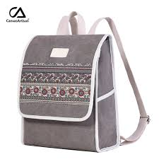 <b>Canvasartisan</b> New <b>Women's</b> Canvas Backpack Retro Style Floral ...