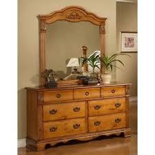 house summer breeze solid wood door dresser picket house vivian  drawer dresser with optional mirror