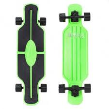 <b>Скейт</b> Y-Scoo <b>Longboard</b> Shark Tir Green-<b>Black</b> 408-G