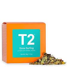 T2 Tea - Tea <b>Gone Surfing</b> Herbal Tea, Loose Leaf Herbal Tea ...