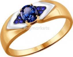 Золотые <b>кольца</b> с полудрагоценными камнями в Уфе 🥇