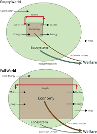 economics for a full world figure 1 welfare in a full vs empty world