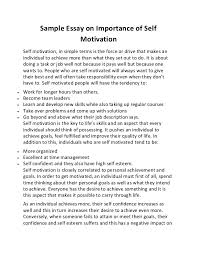 sample academic essay  welcome to sheffners academic writing i  sample essay on importance of selfmotivationself motivation in simple