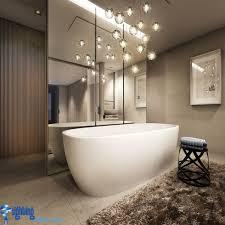 unique bathroom lighting. bathroom lighting ideas with hanging lights over bathtub unique b