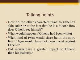 Racism in Othello - William Shakespeare