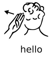 ASL_hello signs for all rochester school for the deaf on signs please walk printable
