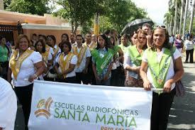 Resultado de imagen para fotos de las escuelas radiofónicas de radio santa maria