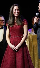 kate middleton wows in red esa notte gown on opening night of photo getty images