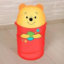 <b>Корзина</b> для игрушек - <b>Медвежонок</b> Винни и его друзья с ручками ...