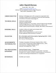 fresh graduate resume sample resume templates fresh graduate resume sample