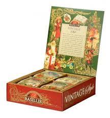 Купить <b>Чай Basilur Vintage</b> style <b>ассорти</b> подарочный набор , 80 г ...