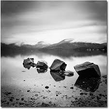 Scotland, Loch <b>Lomond</b> by Nina Papiorek, 18x18-Inch Canvas Wall <b>Art</b>