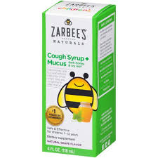 Zarbee's Naturals <b>Children's Cough</b> & Mucus Reducer <b>Syrup</b> ...