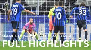 Atalanta vs. Manchester City Full Highlights | Champions League ...