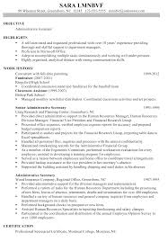 administrative assistant objectives examples best business template chronological resume sample administrative assistant intended for administrative assistant objectives examples 3409