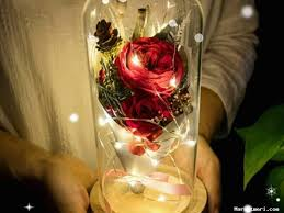 <b>LED Flashing Luminous</b> Artificial Rose <b>Flower</b>