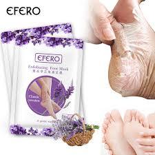 <b>efero 1pair=2pcs Baby Foot</b> Mask for Legs Lavender Extract Peeling ...