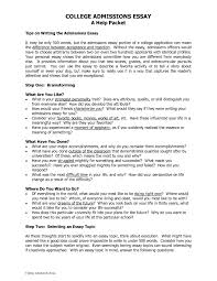 good application essays cover letter example of a college application essay example of