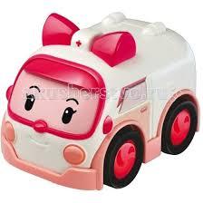 <b>Машинка</b> скорой помощи <b>Эмбер</b> 6 см <b>Робокар</b> Поли (<b>Robocar</b> ...