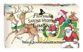 Купить <b>натуральное мыло Merry Christmas</b> Limone 100г Florinda ...