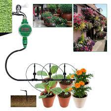 <b>LCD</b> Automatic <b>Garden</b> Watering Sprinkler System Drip <b>Irrigation</b> ...