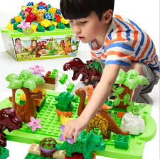 <b>Jurassic</b> Park Series <b>Assembling Building Blocks</b> Children's DIY ...