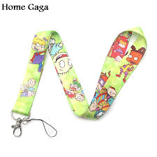 Homegaga Rugratg <b>Gowild keychain lanyard</b> webbing ribbon <b>neck</b> ...