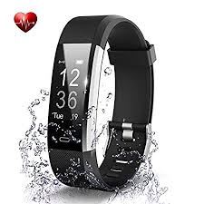 OMNiX <b>ID115 Plus</b> HR Smart Wristband Heart Rate Monitor with ...