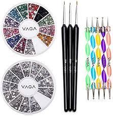 Amazon.com : VAGA <b>Nail Art</b> Supplies Acrylic Nail Kit With 5 Nail ...