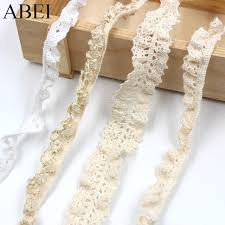 <b>10yards</b>/<b>lot</b> Elastic Beige <b>Lace</b> Trims Cotton <b>White</b> Stretch <b>Lace</b> ...