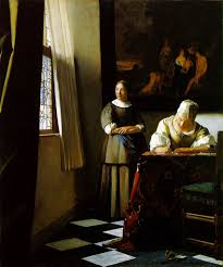 Image result for images vermeer women