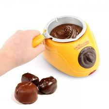 Electric <b>Chocolate Fountain</b> Fondue Chocolate <b>Melt Pot</b> Melter ...