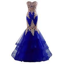 <b>Royal Blue Prom Dresses</b>: Amazon.com
